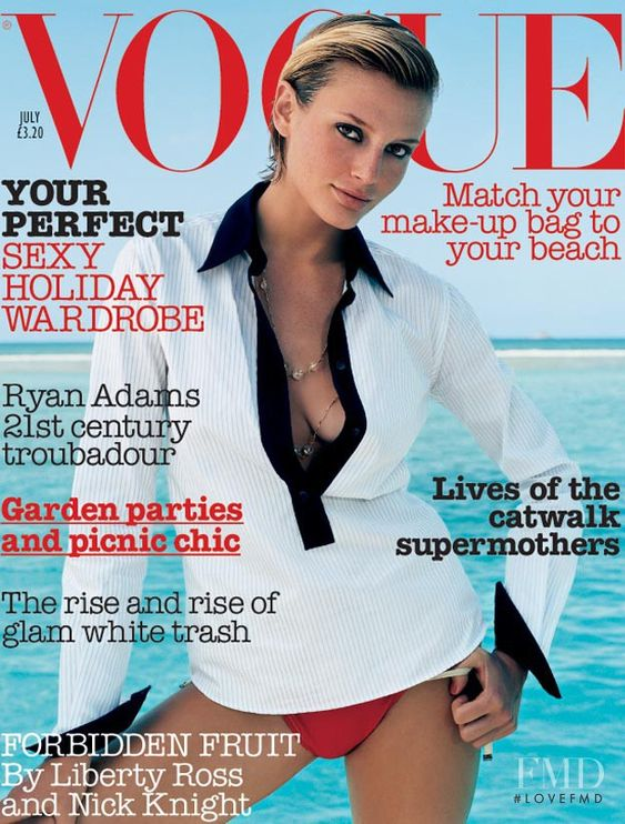 British Vogue Cover July 2002