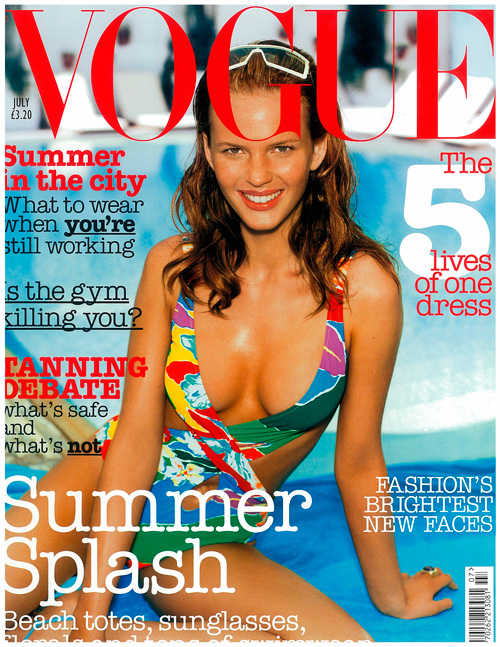 British Vogue Cover July 2003
