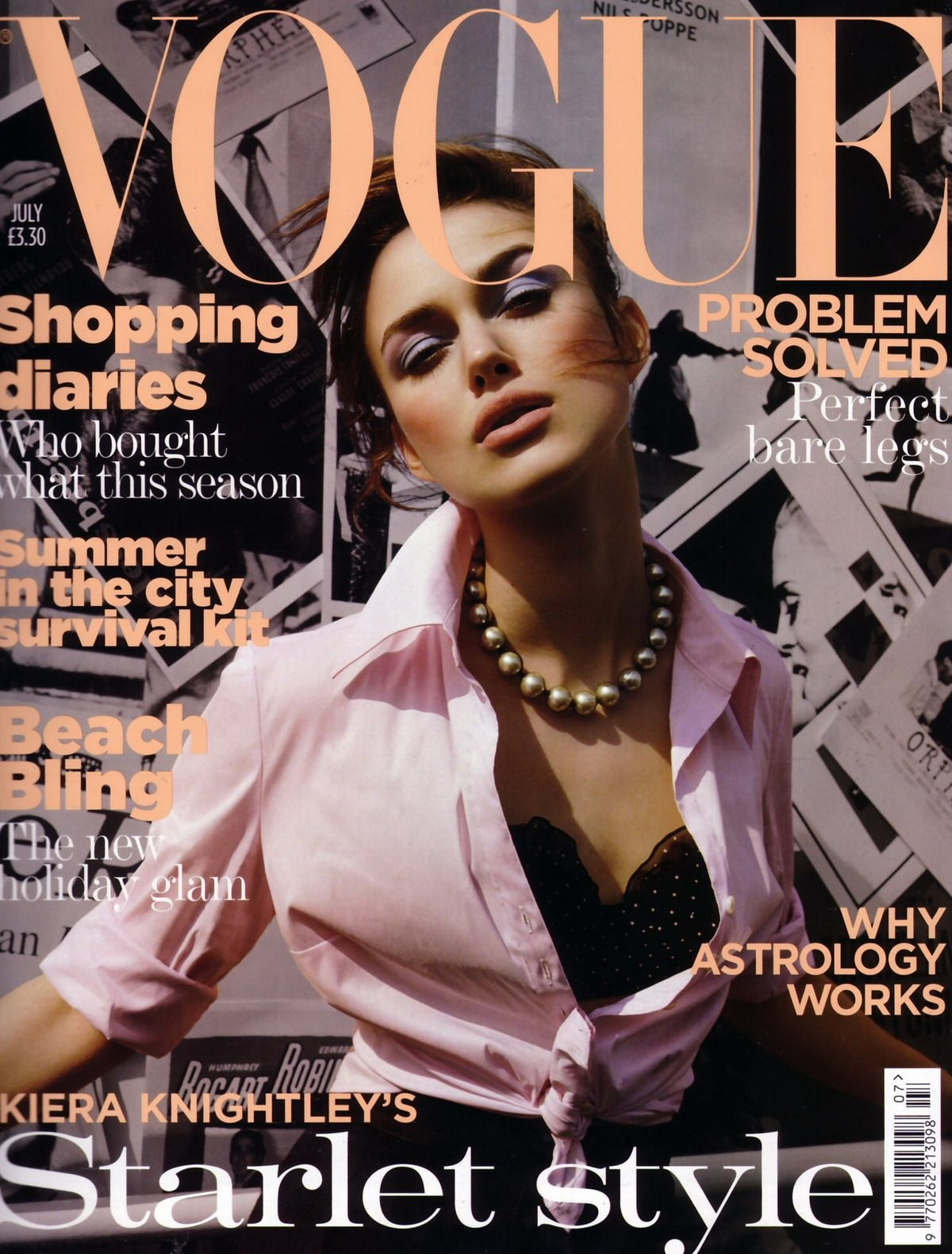 British Vogue Cover July 2004