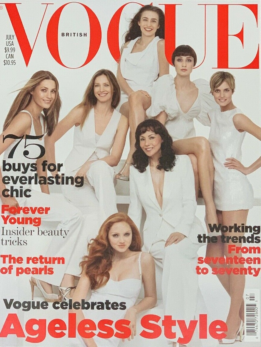 British Vogue Cover July 2007