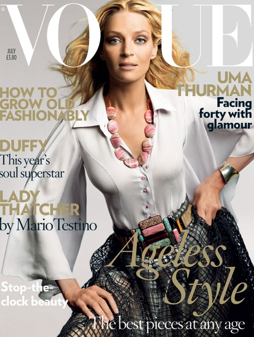 British Vogue Cover July 2008
