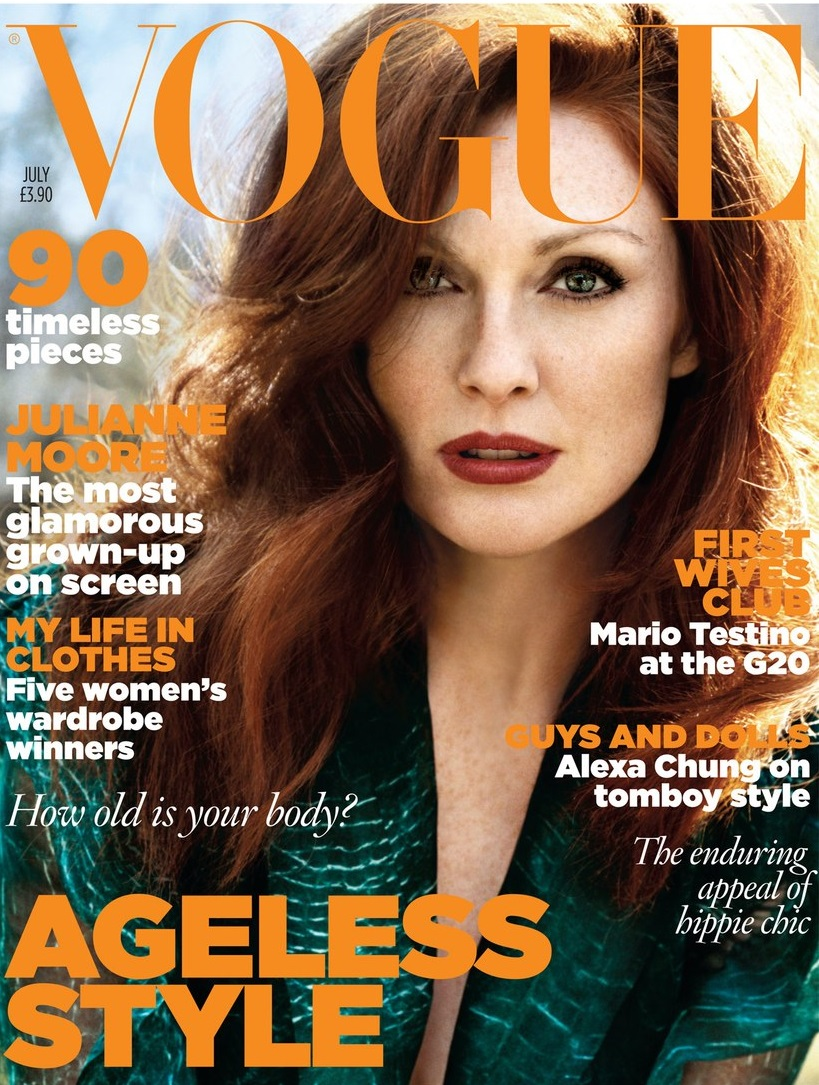 British Vogue Cover July 2009