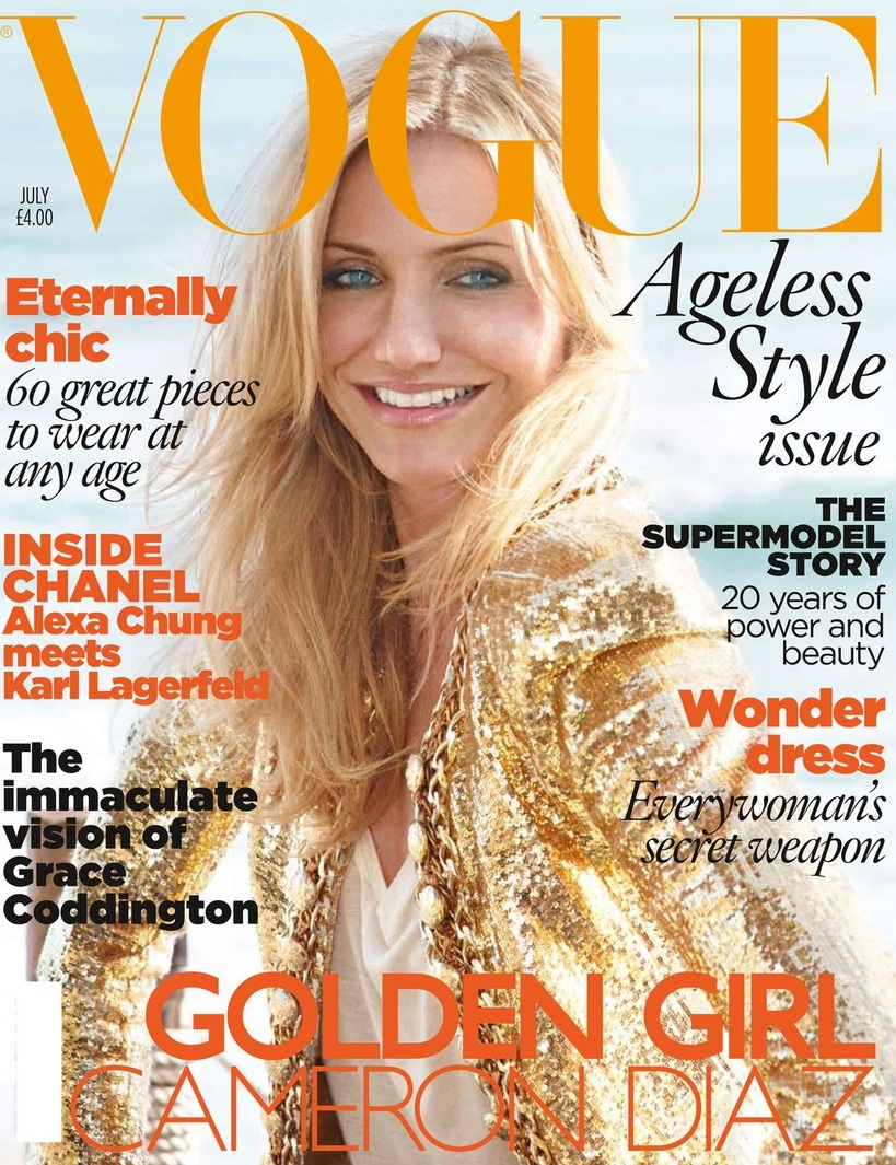 British Vogue Cover July 2010