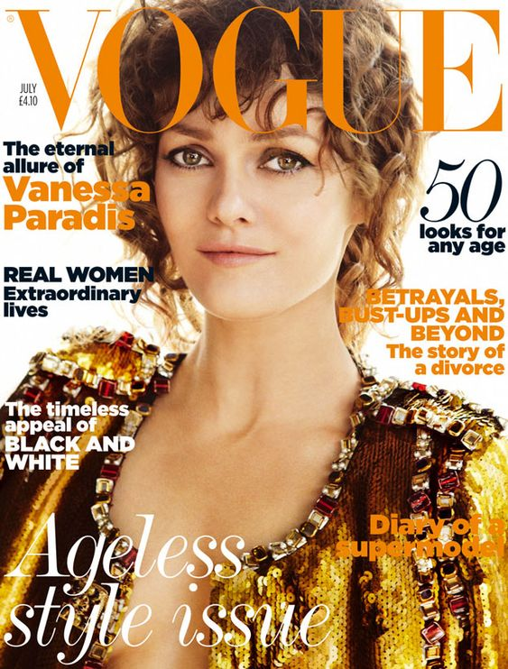 British Vogue Cover July 2011