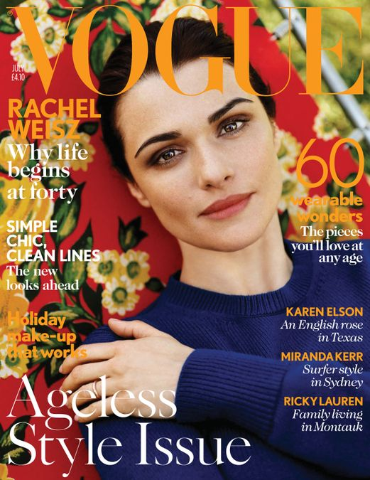 British Vogue Cover July 2012