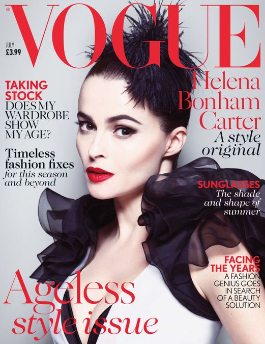 British Vogue Cover July 2013