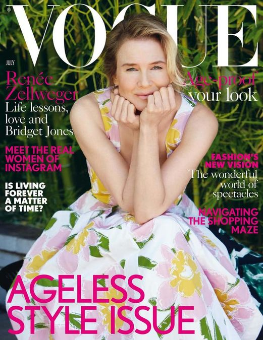British Vogue Cover July 2016