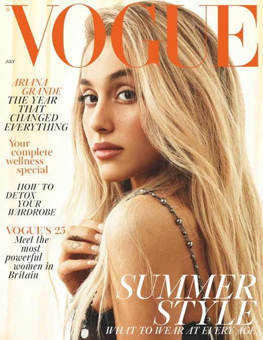 British Vogue Cover July 2018