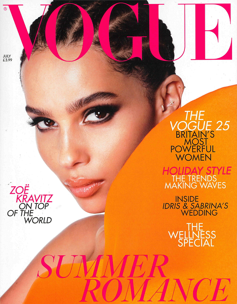 British Vogue Cover July 2019