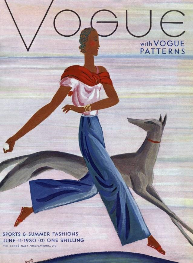 British Vogue Cover June 1930