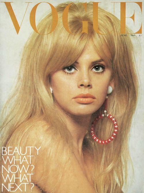 British Vogue Cover June 1966