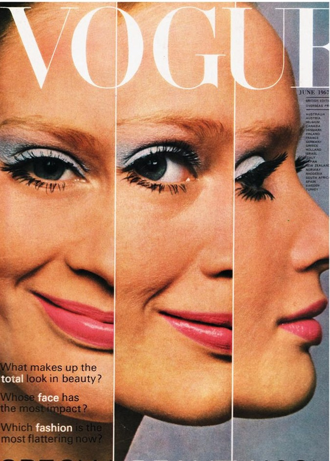 British Vogue Cover June 1967