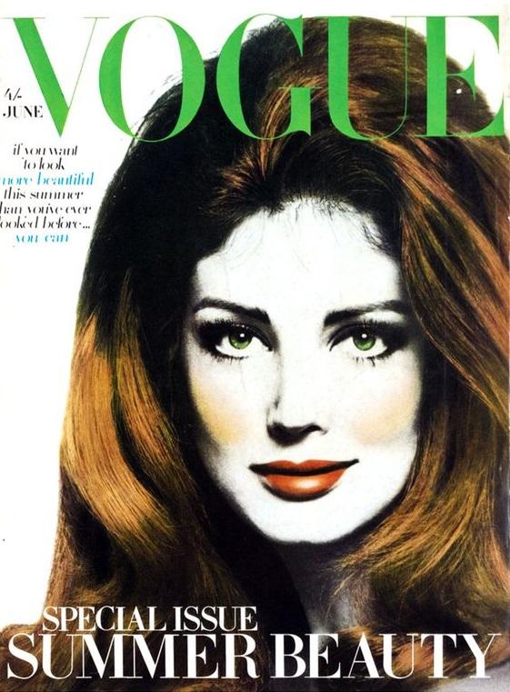 British Vogue Cover June 1968
