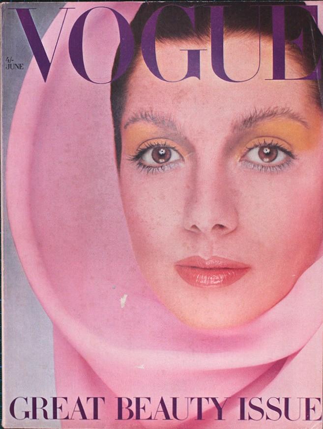 British Vogue Cover June 1969