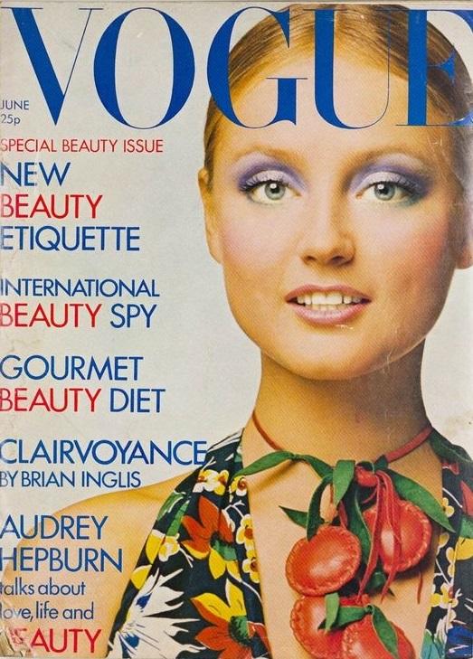 British Vogue Cover June 1971