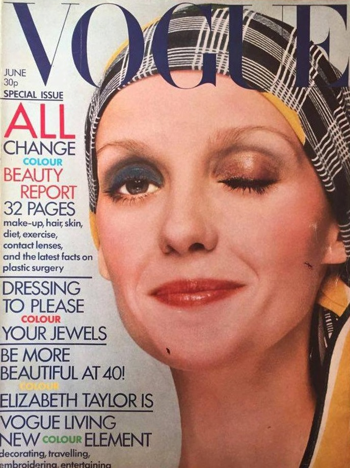 British Vogue Cover June 1972