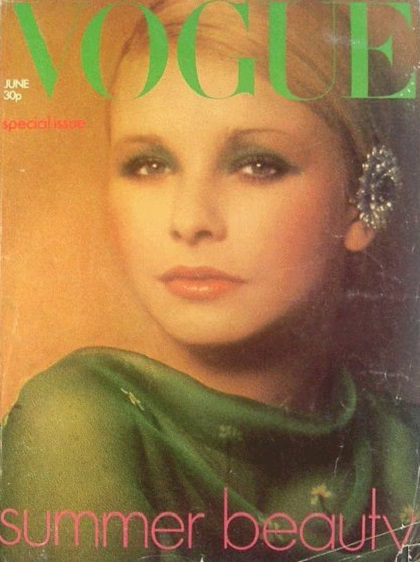 British Vogue Cover June 1973