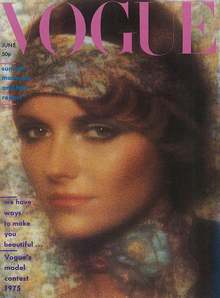 British Vogue Cover June 1975