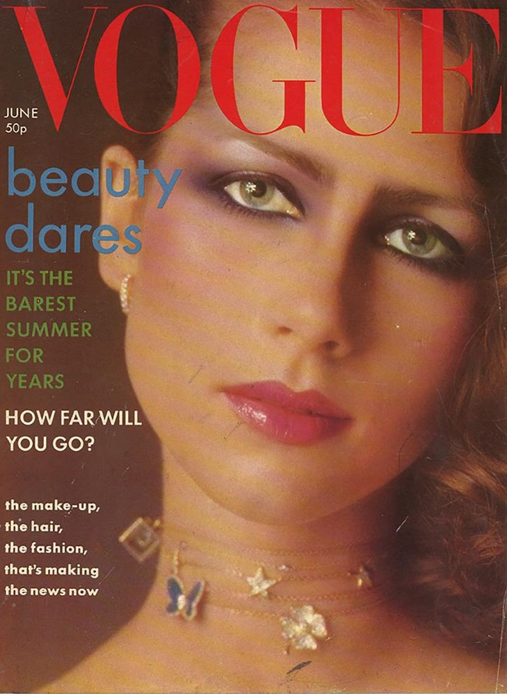 British Vogue Cover June 1976