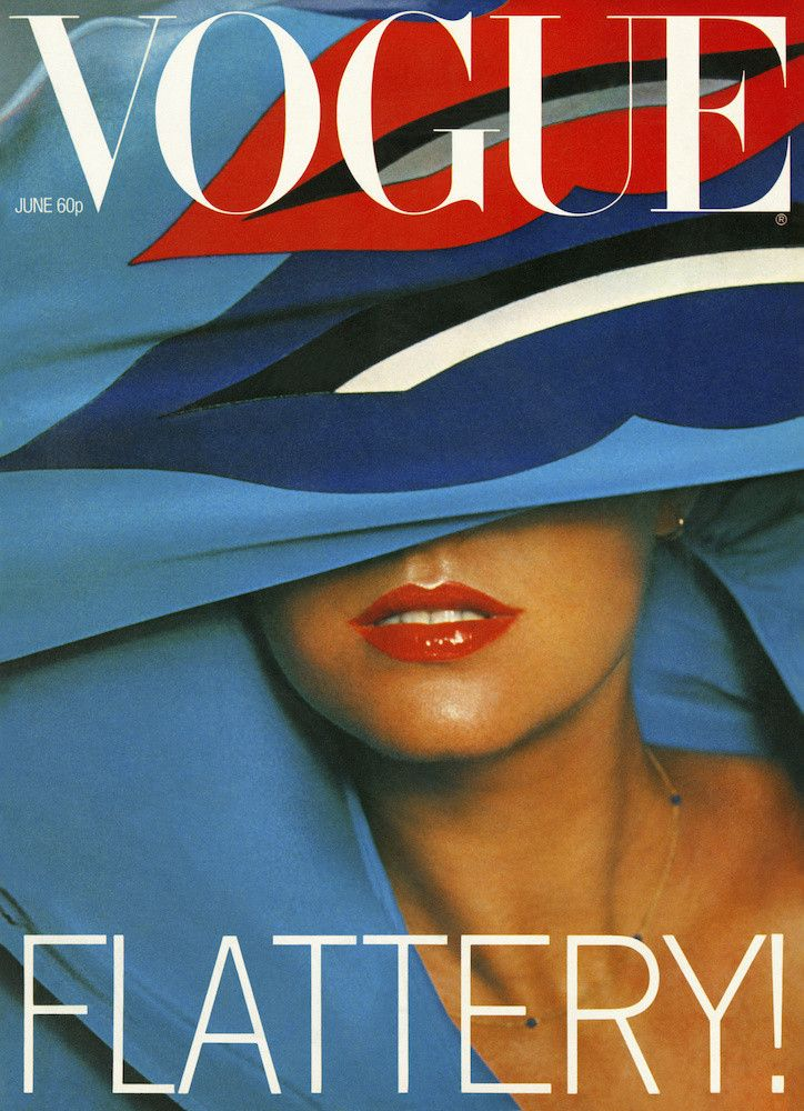 British Vogue Cover June 1977