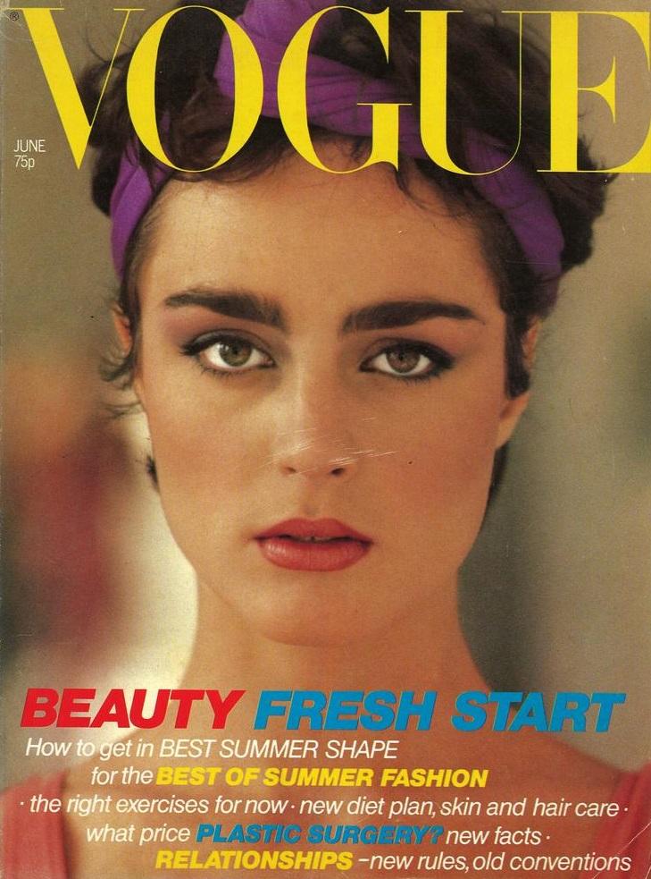 British Vogue Cover June 1979