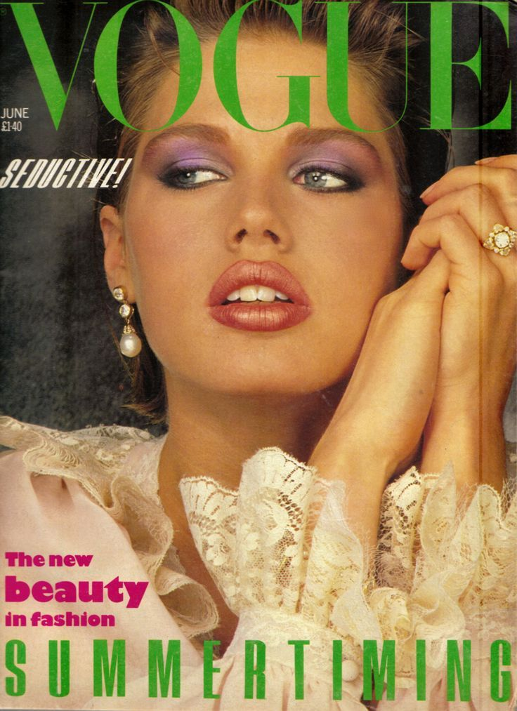British Vogue Cover June 1983