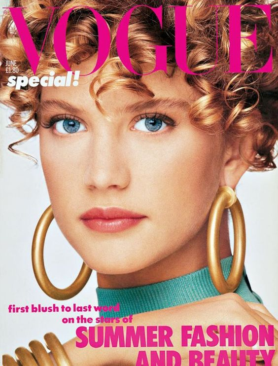 British Vogue Cover June 1986