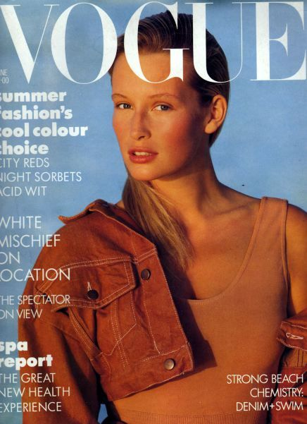 British Vogue Cover June 1987