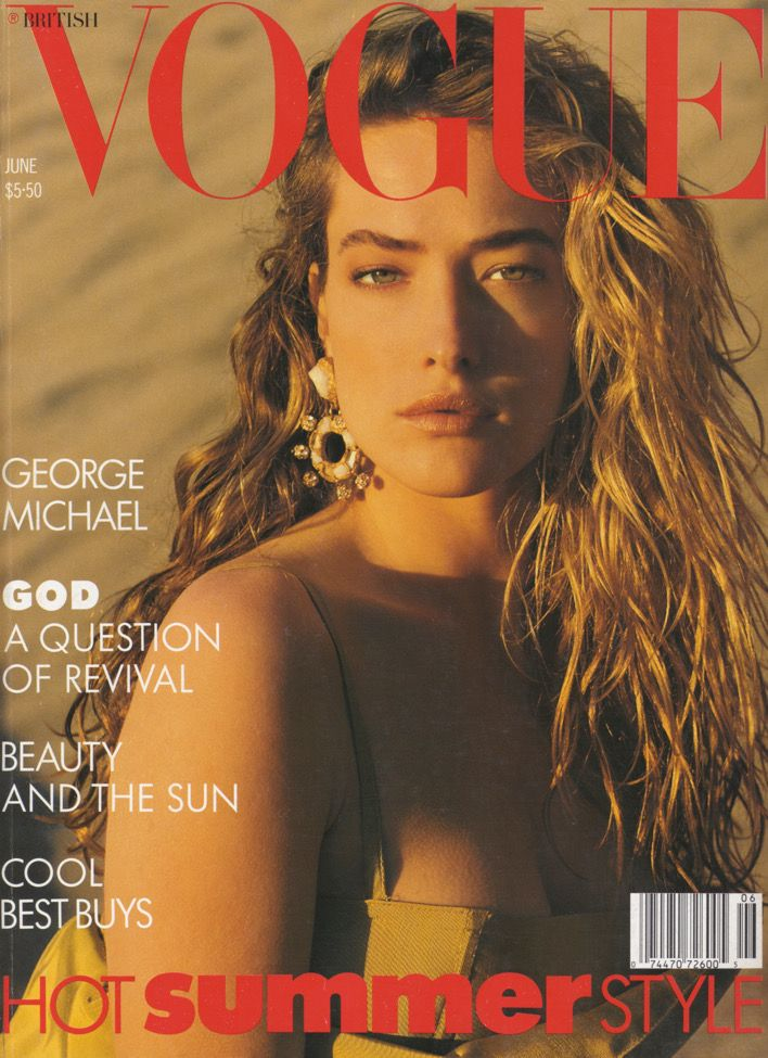British Vogue Cover June 1988