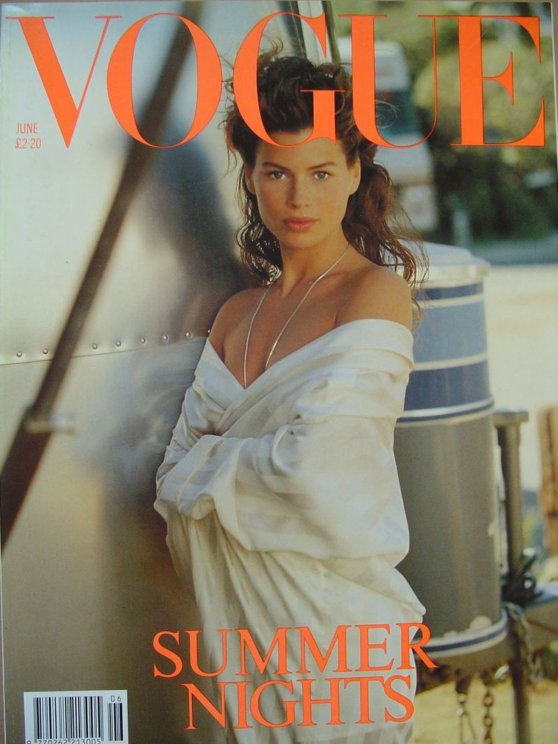 British Vogue Cover June 1989