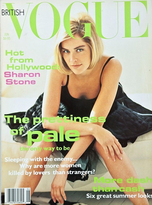 British Vogue Cover June 1992