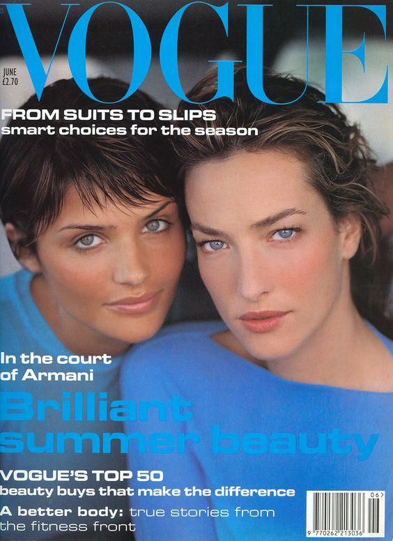 British Vogue Cover June 1994