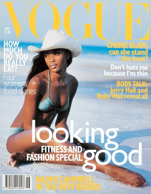 British Vogue Cover June 1996