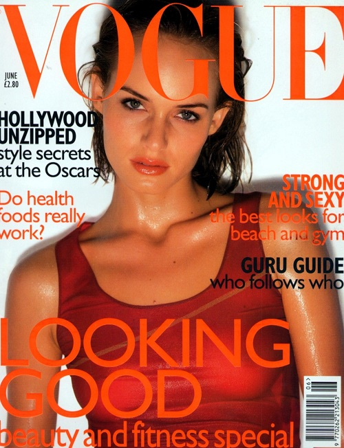 British Vogue Cover June 1997
