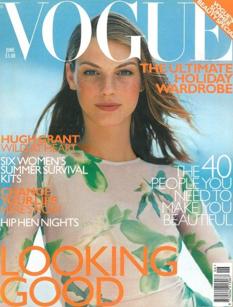 British Vogue Cover June 1999