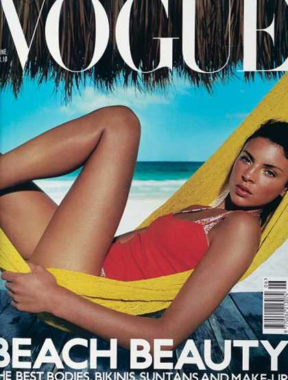 British Vogue Cover June 2000