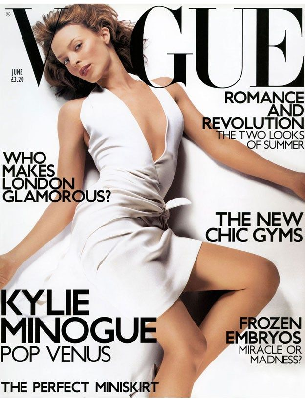 British Vogue Cover June 2001