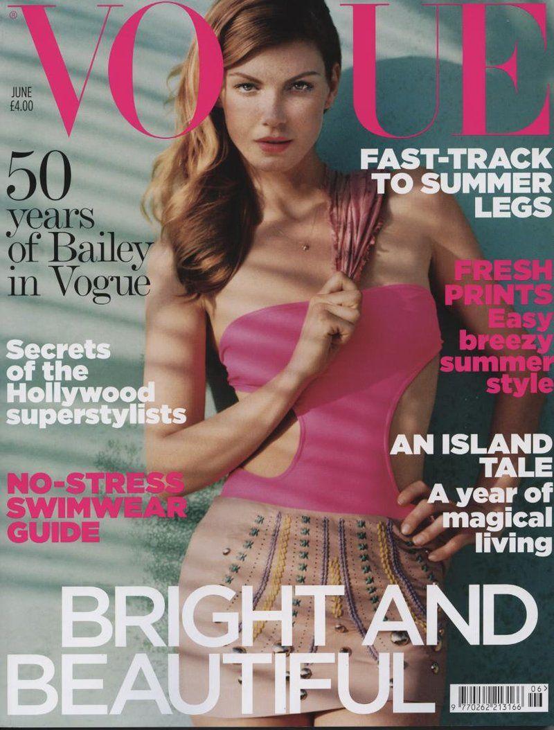 British Vogue Cover June 2010