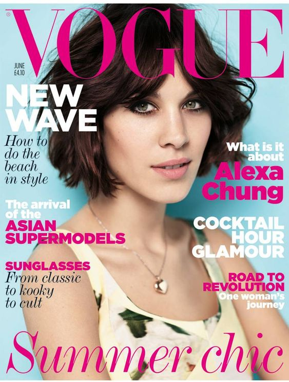 British Vogue Cover June 2011