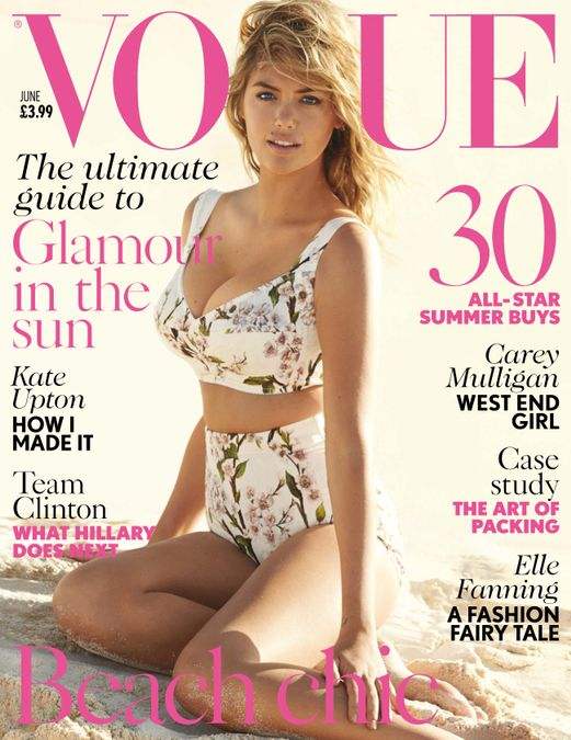 British Vogue Cover June 2014