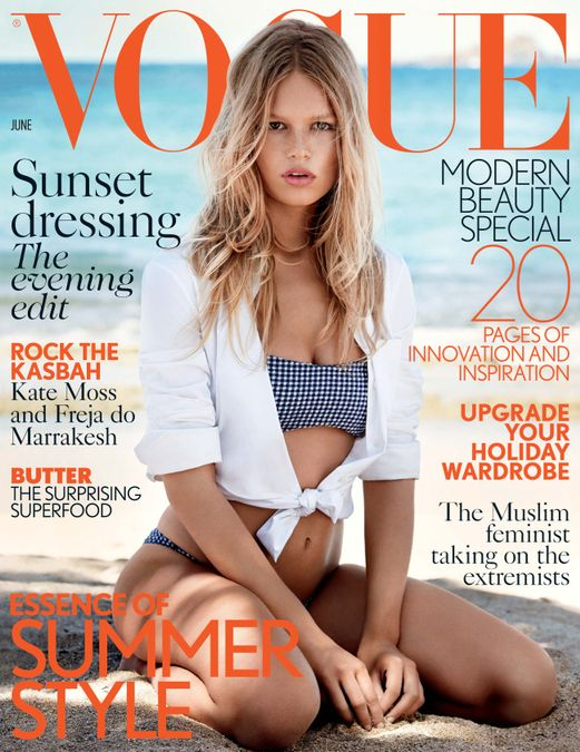 British Vogue Cover June 2015