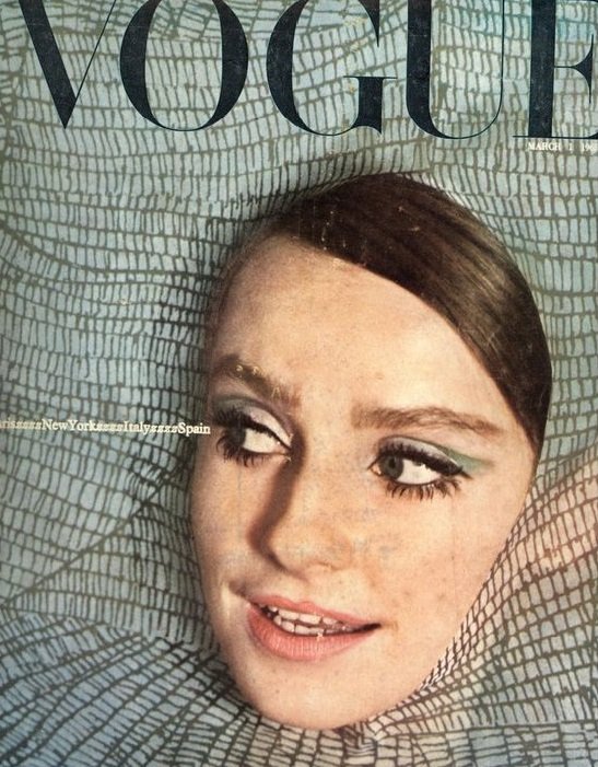 British Vogue Cover March 1965