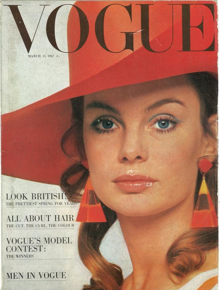 British Vogue Cover March 1967
