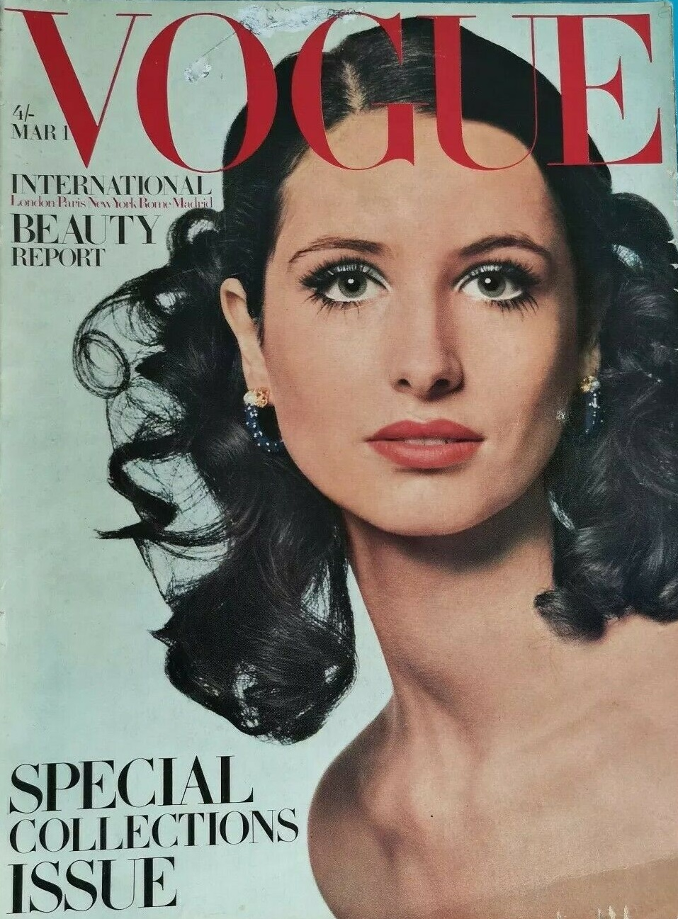 British Vogue Cover March 1968
