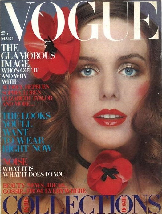 British Vogue Cover March 1971