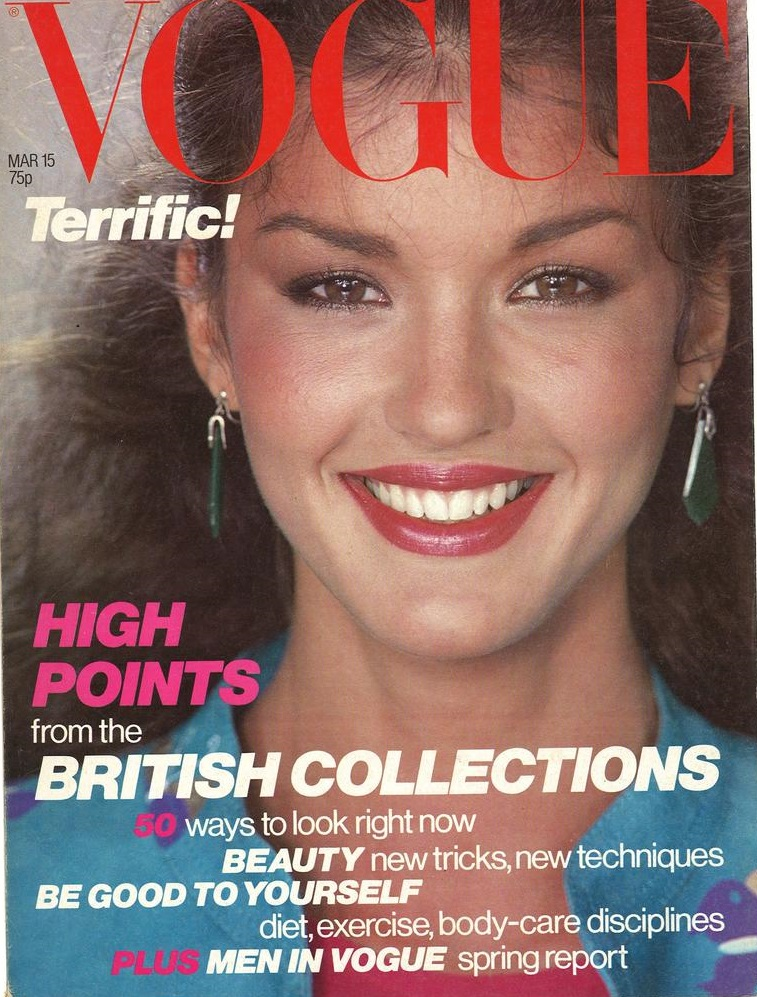 British Vogue Cover March 1979