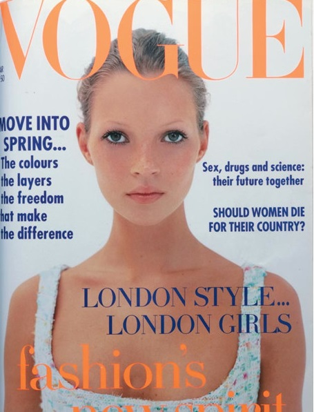 British Vogue Cover March 1993