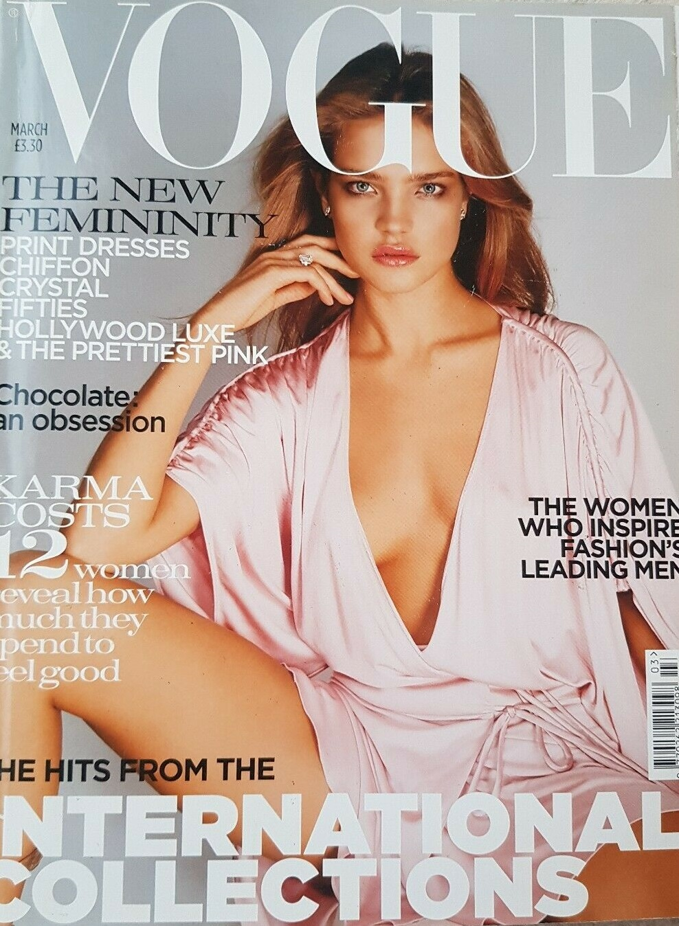 British Vogue Cover March 2004