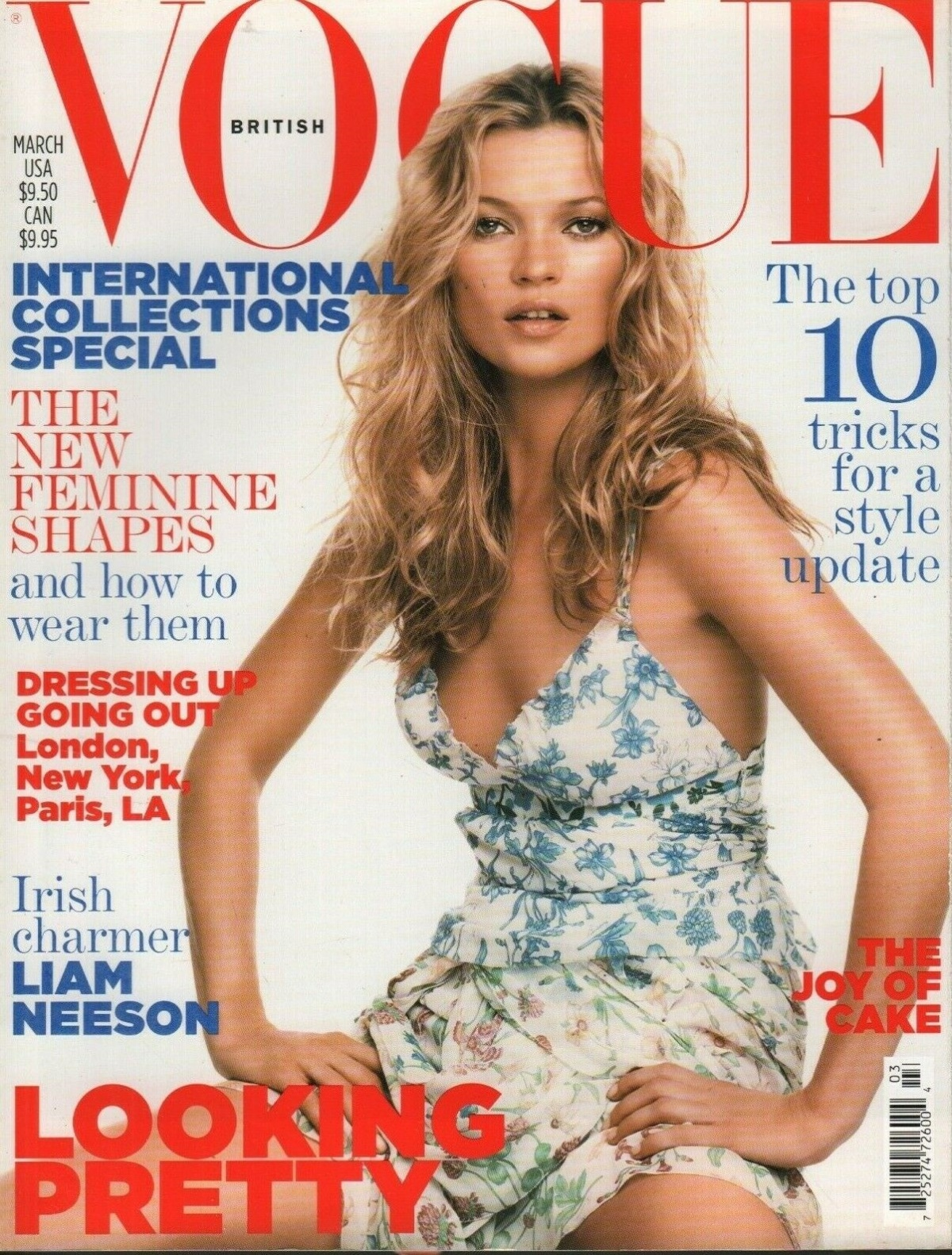 British Vogue Cover March 2005