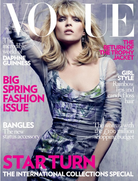 British Vogue Cover March 2008